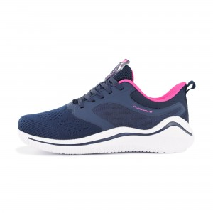 Woman running shoes Runners BUTTERFLY, RNS-201-3722, Navy