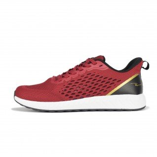 Men running shoes Runners FREEDOM, RNS-201-3686, Burgundy