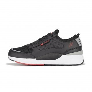 Men running shoes Runners DRIFT, RNS-201-3716, Black