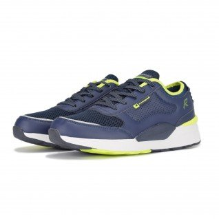 Men running shoes Runners DRIFT, RNS-201-3716, Navy
