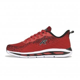 Men running shoes Runners SKIPPER, RNS-201-3741, Burgundy