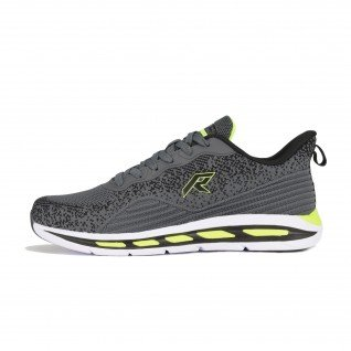 Men running shoes Runners SKIPPER, RNS-201-3741, Dk.Grey