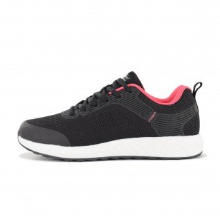 Woman running shoes Runners LADY CRUSH, RNS-201-3745, Black