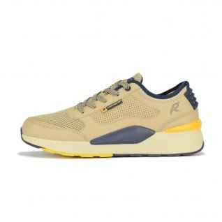 Men running shoes Runners DRIFT, RNS-201-3716, Beige