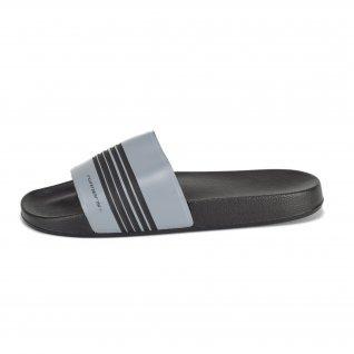 Men flip-flops Runners, RNS-201-22894, Black/Grey