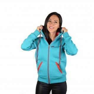 Women sweatshirt Runners, FS19-1, Green