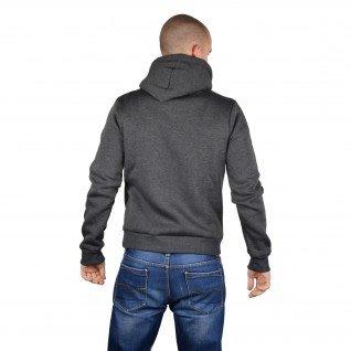 Men sweatshirt Runners, MS19-2, Dk.Grey