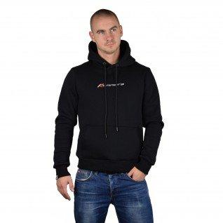 Men sweatshirt Runners, MS19-2, Black