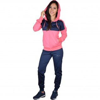 Woman sports outfit Runners, RNS-15012, Navy/Pink