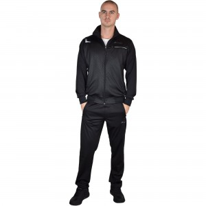 Men sports outfit Runners, RNS-5363, Black