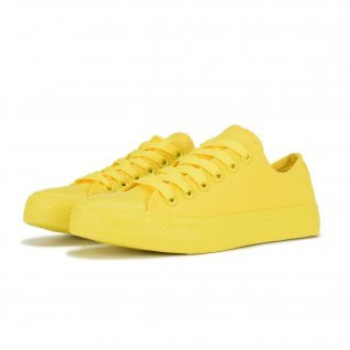 Woman sneakers Runners, RN-1, Yellow