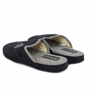 Men home slippers De Fonseca, 7ANZ MILANO M203, black