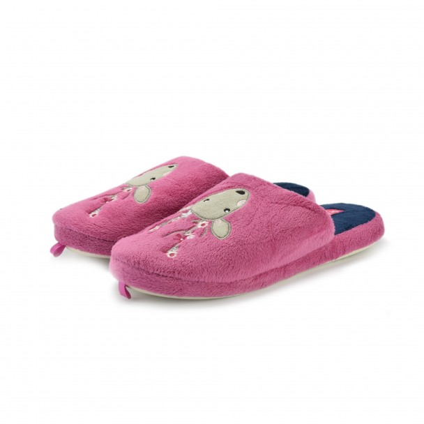 Woman home slippers Defonseca, ROMA TOP W201, orchidea