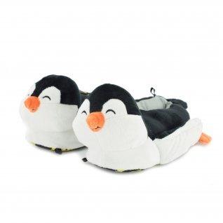 Kids home slippers Defonseca, 7A29 TEVERE K230, Black
