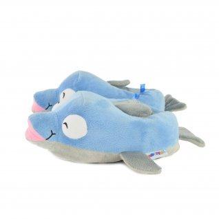 Kids home slippers Defonseca, TEVERE K239, Blue