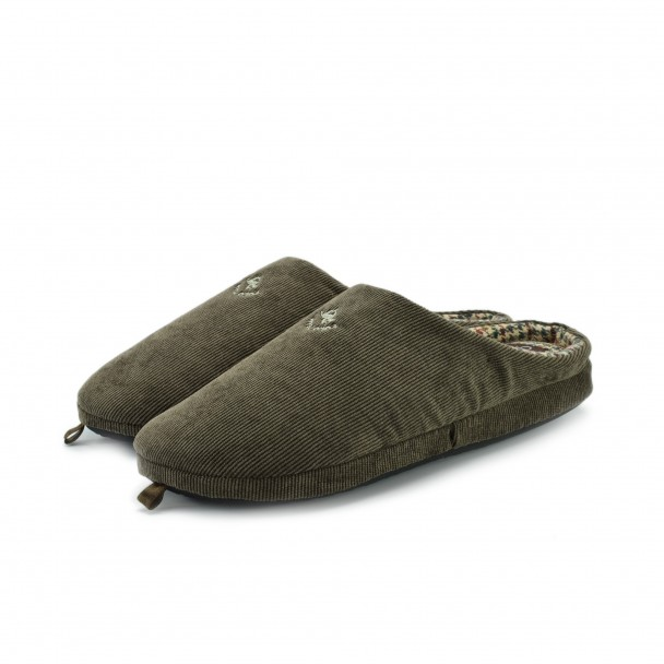 Men home slippers Defonseca, FIRENZE M205, marrone