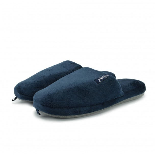 Men home slippers Defonseca, ROMA TOP M224, blu scuro
