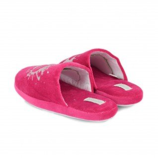 Kids home slippers De Fonseca, ROMA G402, fuxia