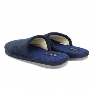 Men home slippers Defonseca, ROMA TOP M403, Blue