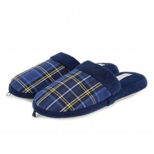Women home slippers De Fonseca, ROMA TOP W434, blue