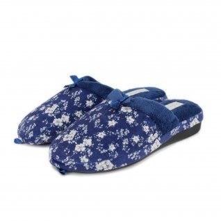 Women home slippers De Fonseca, VERONA W405, blue
