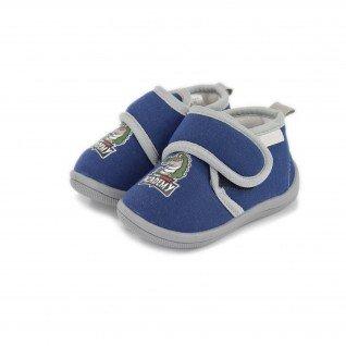 Kids home slippers De Fonseca, K553 PESCARA I, blue