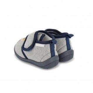 Kids home slippers De Fonseca, K553 PESCARA I, grey
