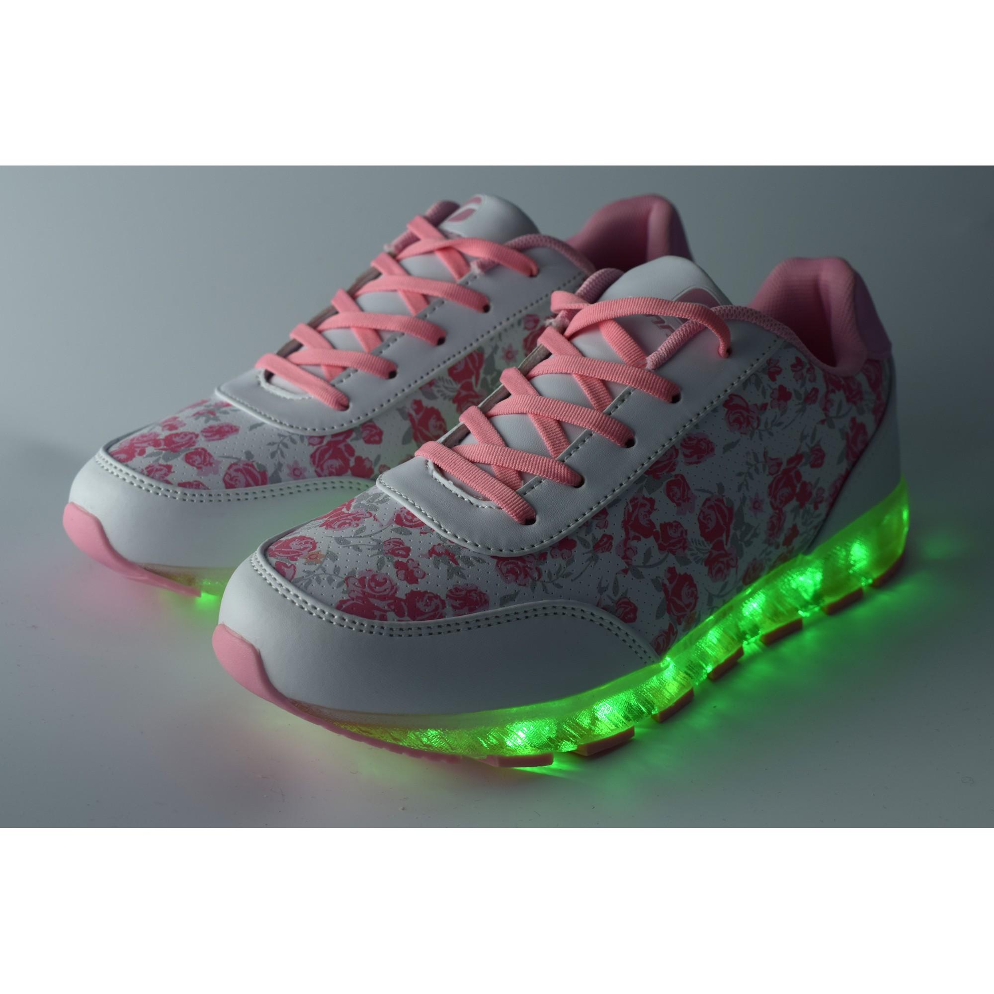 a5cd3e019fc Дамски светещи маратонки Runners, RNS-171-16187, розов