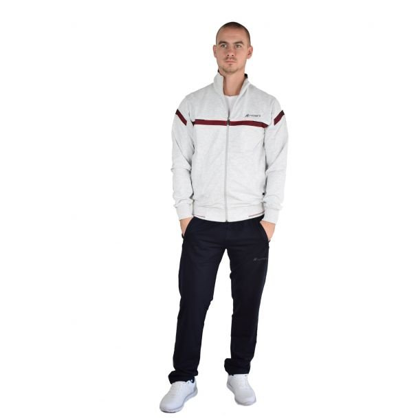 Men sports outfit Runners, RNS-8877, Grey